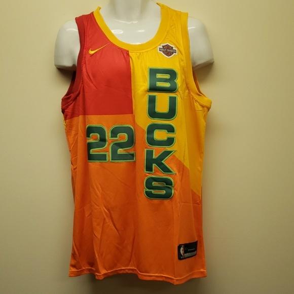 official photos 70417 bbb5f Khris Middleton Milwaukee Bucks jersey